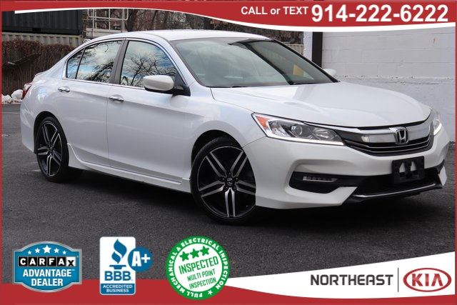 2017 Honda Accord White >> Pre Owned 2017 Honda Accord Sport Special Edition Fwd 4d Sedan