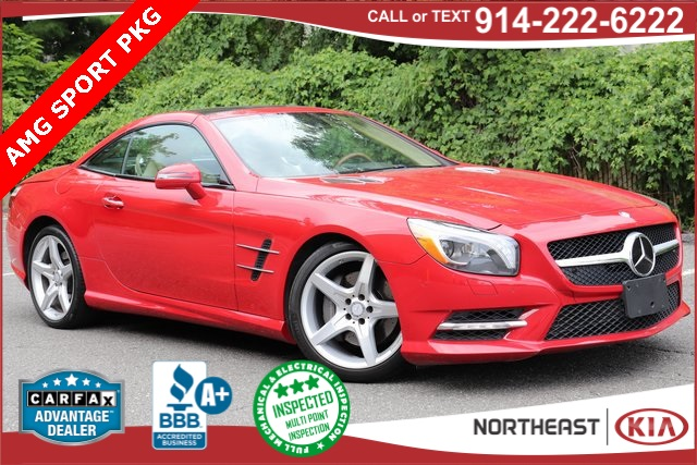 Pre-Owned 2016 Mercedes-Benz SL-Class SL 400 Roadster